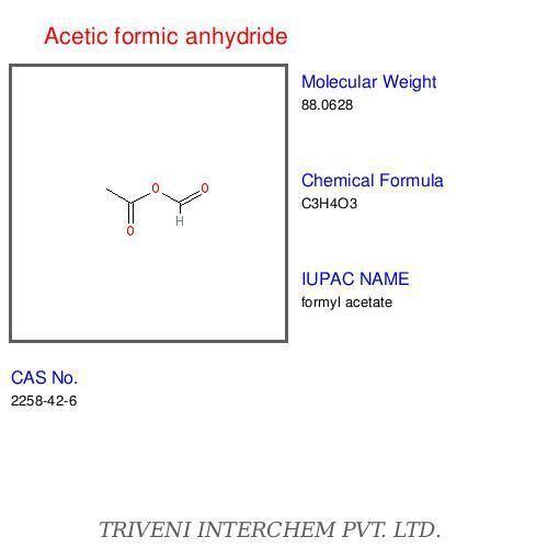 Acetic formic anhydride Acetic formic anhydride Exporter Acetic formic anhydride