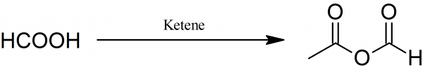 Acetic formic anhydride Synthesis of acetic formic anhydride PrepChemcom