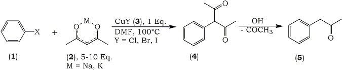 Acetylacetone Synthesis of Arylacetones From Aryl Halides and Acetylacetonate