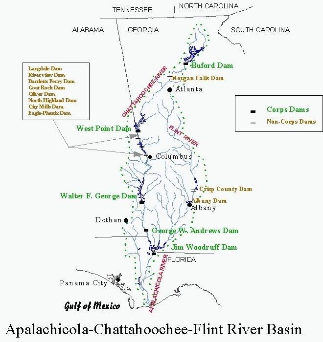 ACF River Basin ACF Water Battle in Court in Maine Coosa Alabama River