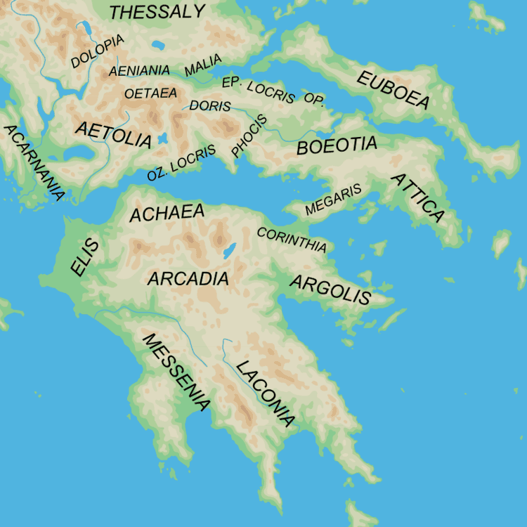 Achaea in the past, History of Achaea