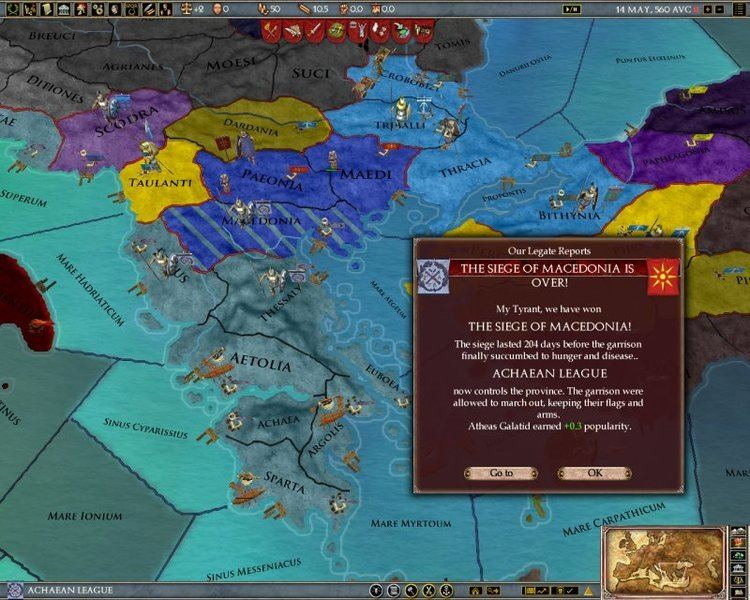 Achaean League A History of the Wars of the Achaean League Paradox Interactive Forums