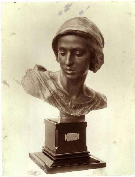Achille Alberti Achille Alberti Primo amore scultura in bronzo Anonimo