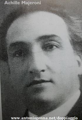 Achille Majeroni wwwantoniogennanetdoppiaggiovocimajeronijpg