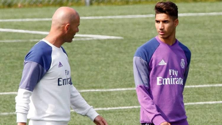 Achraf Hakimi Real Madrid Who is Zidane39s Copa del Rey call up Achraf Hakimi