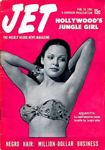 Acquanetta Actress Acquanetta Hollywoods Jungle Girl Jet Magazine Flickr