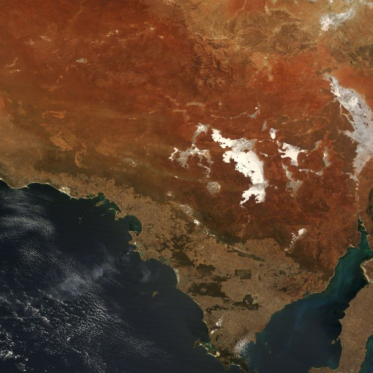 Acraman crater Acraman Impact Structure South Australia Image of the Day