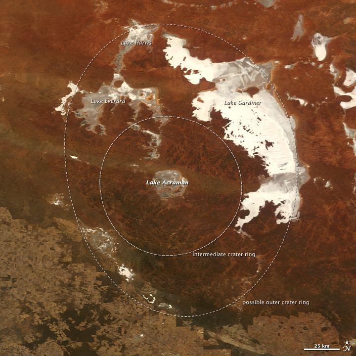 Acraman crater eoimagesgsfcnasagovimagesimagerecords420004