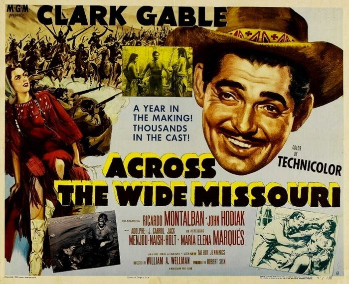 Across the Wide Missouri (film) Across the Wide Missouri film Alchetron the free social