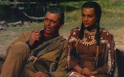 Across the Wide Missouri (film) Across the Wide Missouri 1951 starring Clark Gable Adolphe Menjou