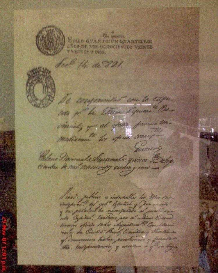 Act of Independence of Central America