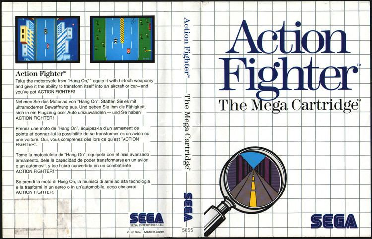 Action Fighter Captain Williams SEGA Master System Action Fighter