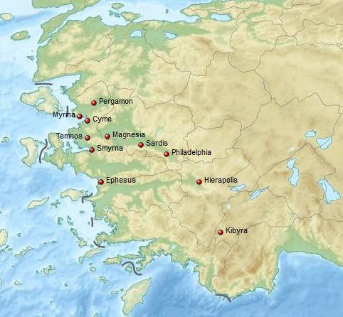 AD 17 Lydia earthquake