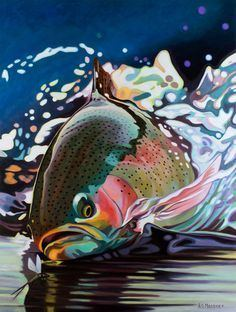 A.D. Maddox FISH on Pinterest Blue Crabs Trout and Rainbow Trout