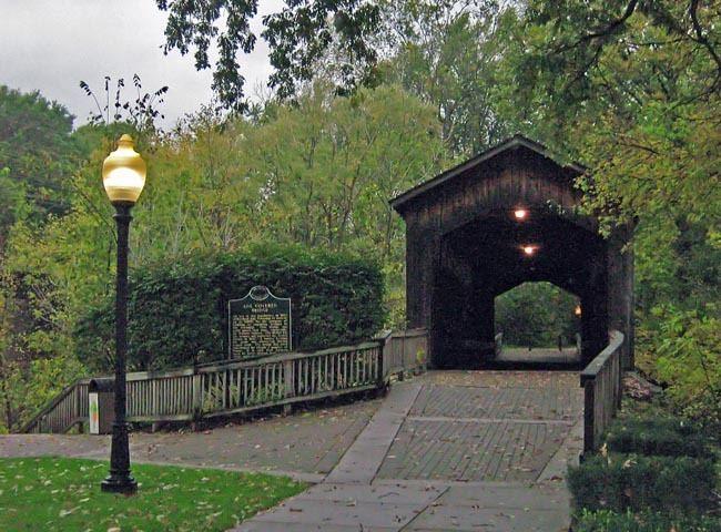 Ada Covered Bridge Ada Covered Bridge Michigan