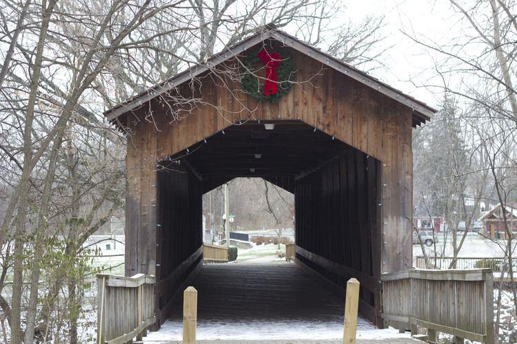 Ada Covered Bridge Ada Covered Bridge Michigan History