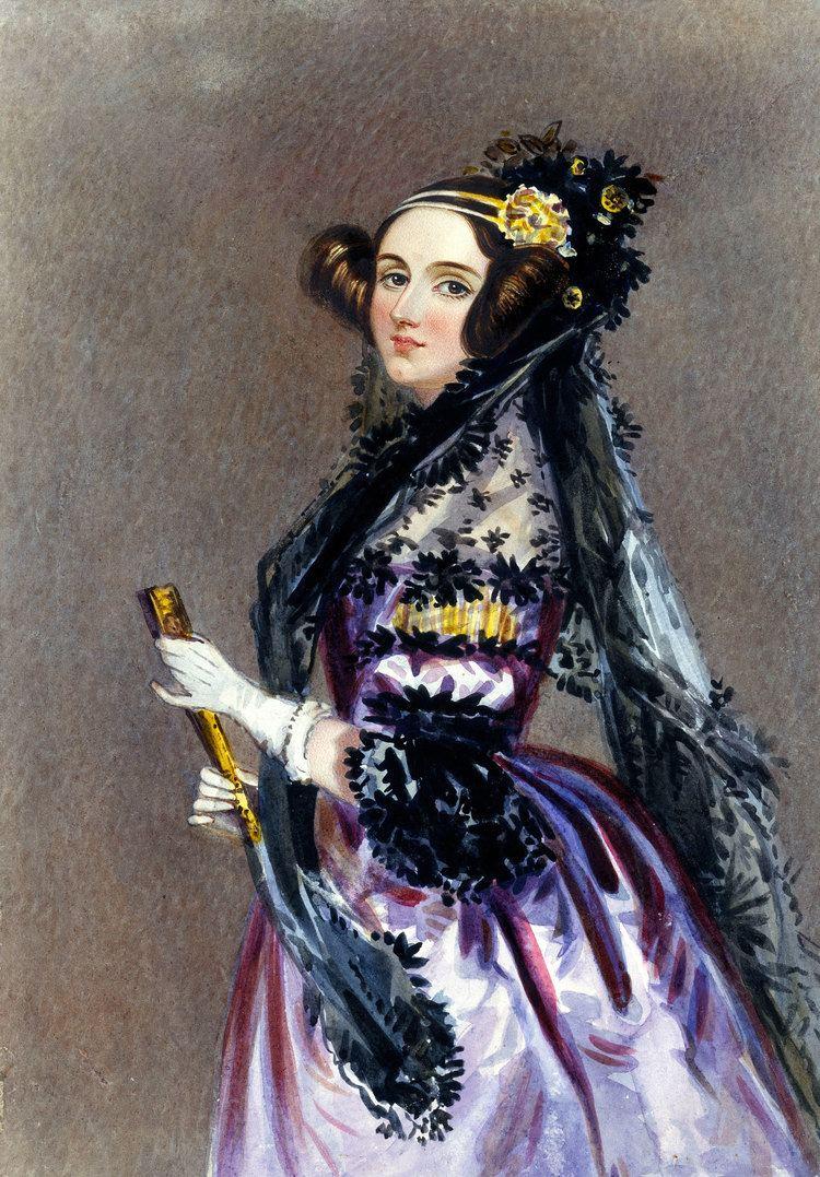 Ada Lovelace Ada Lovelace Wikipedia the free encyclopedia