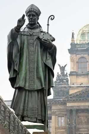 Adalbert of Prague Saint Adalbert bishop of Prague Britannicacom