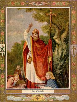 Adalbert of Prague St Adalbert of Prague Saints Angels Catholic Online