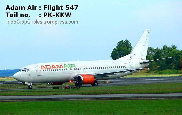 Adam Air Flight 574 Adam Air Flight 574 Tail no PKKKW blackbox