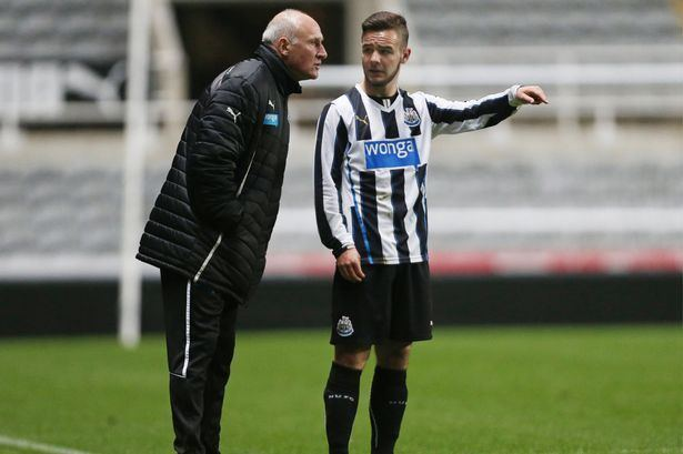 Adam Armstrong (footballer) Dave Watson proud of his Newcastle United youngsters