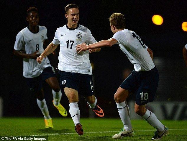 Adam Armstrong (footballer) England Under 17s 1 Turkey Under 17s 0 match report