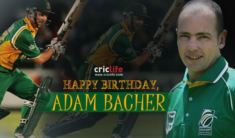 Adam Bacher 7 facts about the South African batsman Cricket Country