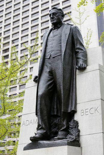 Adam Beck Ontario Liberals blacking out Adam Becks energy legacy BLIZZARD