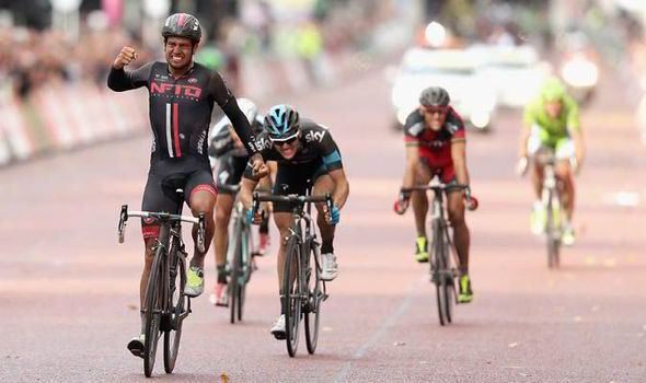 Adam Blythe Cyclist wins in London Other Sport Sport Daily Express