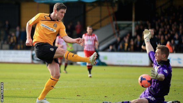 Adam Cunnington BBC Sport Adam Cunnington Cambridge recall Bristol