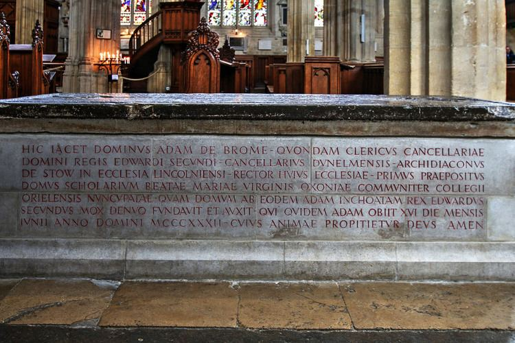 Adam de Brome Adam de Brome St Marys high st Oxford Adam de Brome Flickr