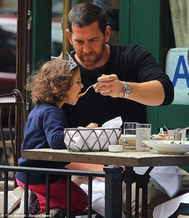 Adam Dell Adam Dell has lunch with daughter Krishna after custody battle with