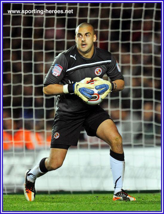 Adam Federici Adam FEDERICI League Appearances Reading FC