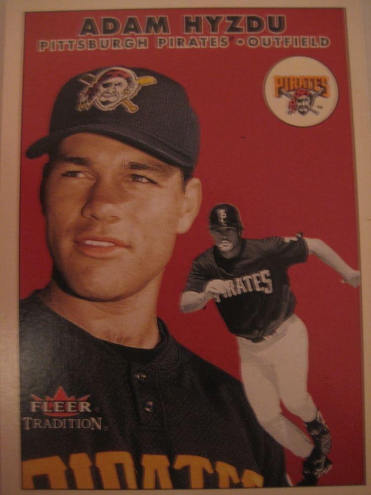 Adam Hyzdu Baseball Cards Come to Life Adam Hyzdu on baseball cards