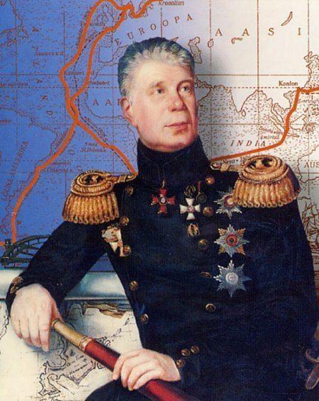 Adam Johann von Krusenstern VikeMaarja municipality Kiltsi Castle and Admiral Adam