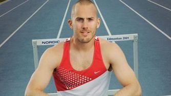 Adam Kunkel Not giving up Hurdler Adam Kunkel gives Olympics one more shot