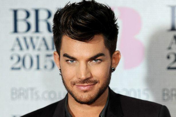 Adam Lambert Adam Lambert Out Promoting His New Single Surprises Fan