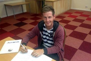 Adam Marriott Adam Marriott signs for Stevenage ACHIEVE