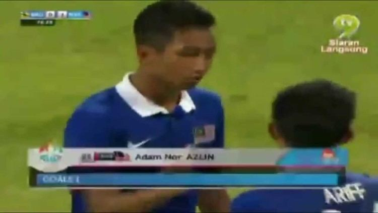 Adam Nor Azlin SEA Games Singapore 2015 Brunei 0 2 Malaysia 862015 YouTube