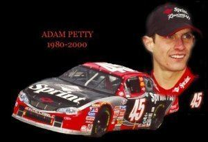 Adam Petty Jayskis NASCAR Silly Season Site Adam Petty News and Tribute