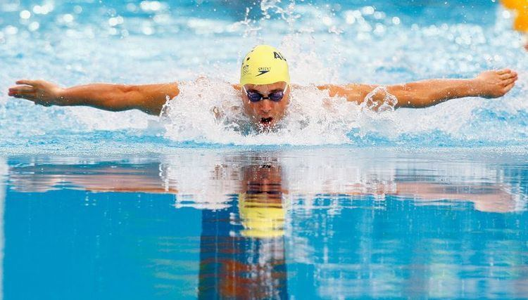 Adam Pine Sports Gallery 2012 Adam Pine Australian Swimmer