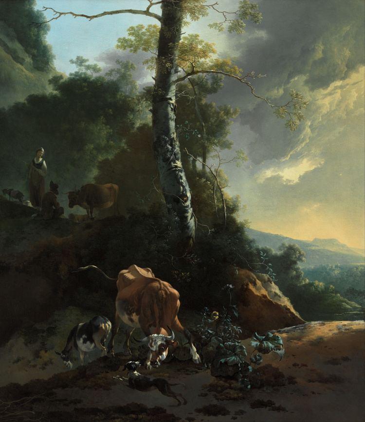 Adam Pynacker FileAdam Pynacker Landscape with enraged ox Google