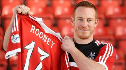 Adam Rooney Aberdeen complete the signing of Adam Rooney from Oldham