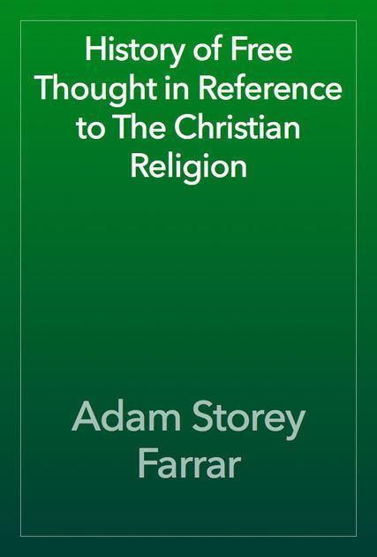 Adam Storey Farrar Adam Storey Farrar on iBooks