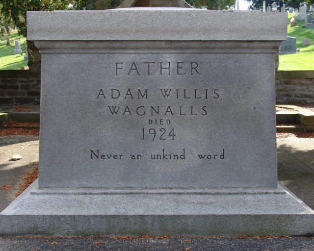 Adam Willis Wagnalls Adam Willis Wagnalls 1843 1924 Find A Grave Memorial