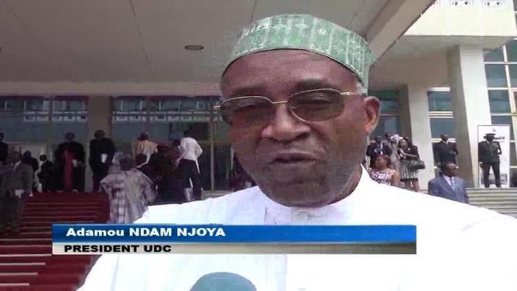 Adamou Ndam Njoya Adamou Ndam Njoya au Sommet de Yaound sur la surt et la scurit