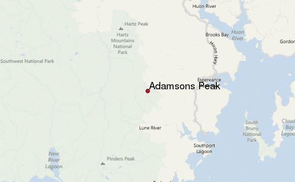 Adamsons Peak Adamsons Peak Mountain Information