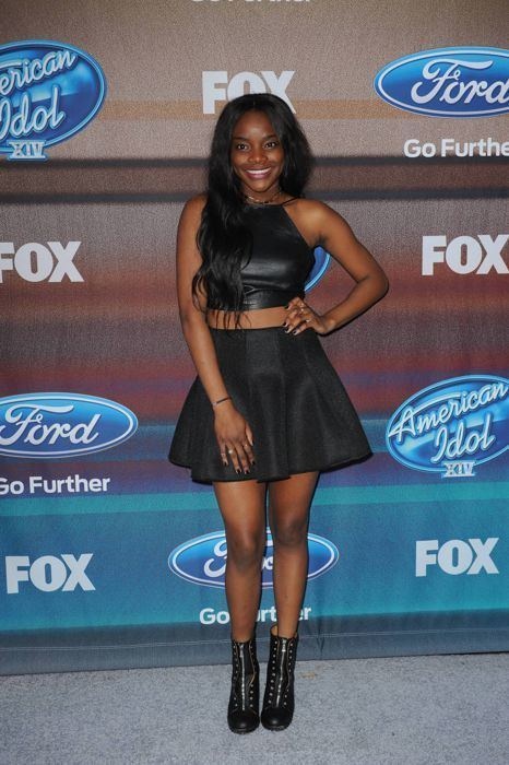Adanna Duru Adanna Duru Top 12 Finalist Party American Idol Net