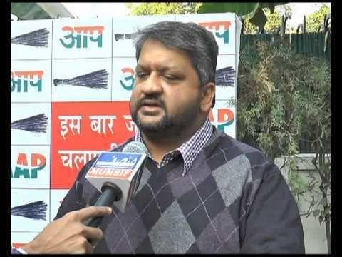 Adarsh Shastri Adarsh Shastri AAP Leader YouTube