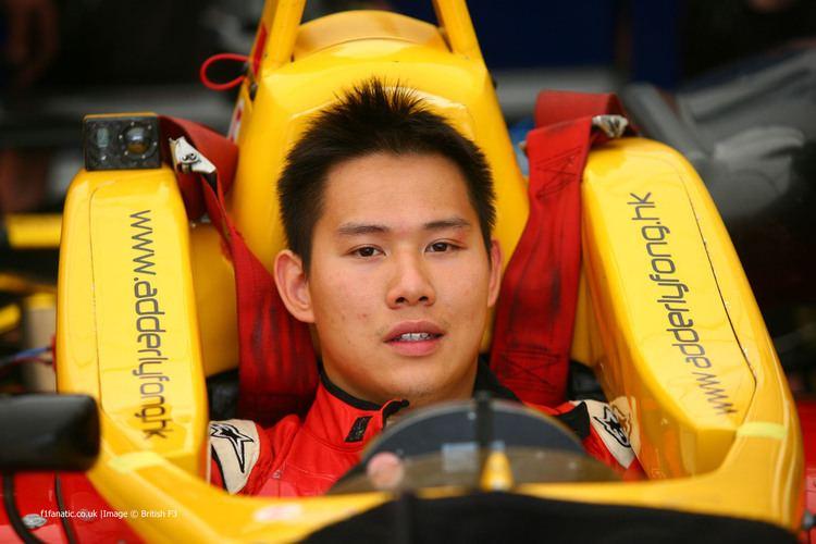 Adderly Fong Adderly Fong British F3 2012 F1 Fanatic